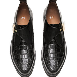 H&M - croc buckle shoe
