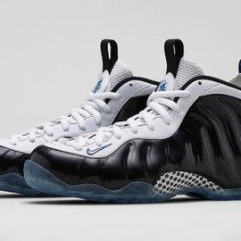 Nike - NIKE AIR FOAMPOSITE ONE BLACK/WHITE-GAME ROYAL