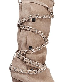 Isabel Marant - Soono chain-trimmed suede boots