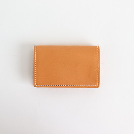 Hender Scheme|UNISEX - FOLDED CARD CASE #NATURAL [bs-rc-fcc]