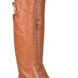 Chloe - Chloe long leather boots