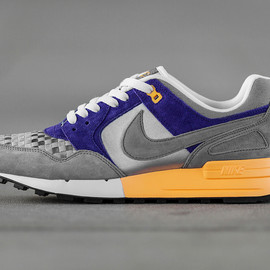 Nike - Nike Air Pegasus 89 Woven Wolf Grey/Cool Grey-Court Purple