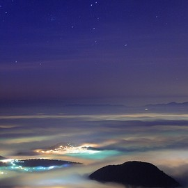 Mount Datun, Taiwan - Sea of clouds