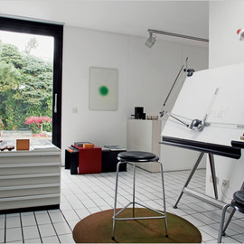 Dieter Rams - The studio in Mr. Rams's home in 1971