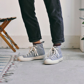 THE HILL-SIDE - DONEGAL TWEED HIGH TOP SNEAKER