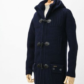 Bark - Duffle coat NAVY