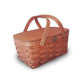 "PETERBORO BASKET COMPANY - "" BASIC BASKET for TWO """