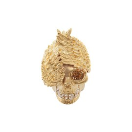 Alexander McQueen - Alexander McQueen, Wings Skull Cocktail Ring