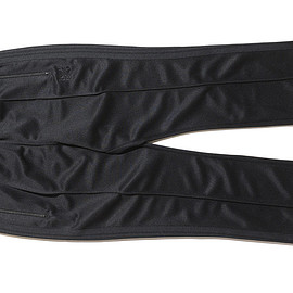 NEEDELS - LOFTMAN別注 Narrow Track Pant-Black×Charcoal