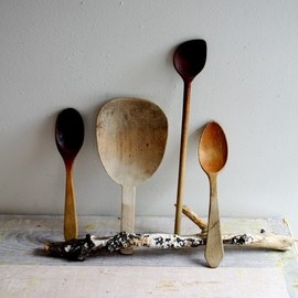 Vintage Wooden Spoon Collection