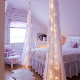 Fairy lights/bedroom