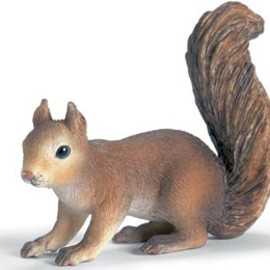 Schleich - Squirrel, sitting