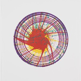 Damien Hirst - Round from In a Spin, the Action of the World on Things, Volume 1