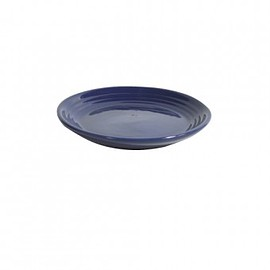 BAUER POTTERY - Bread Plate Midnight Blue