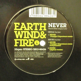 EARTH WIND & FIRE - NEVER (SUNAGA T.EXPERIENCE rmx) / CUTTING EDGE