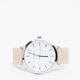 The Horse - Silver/Natural Band Watch