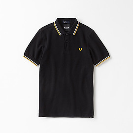 Fred Perry×Marshall Amplification - polo shirts