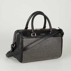 SAINT LAURENT - Studded Baby Duffle