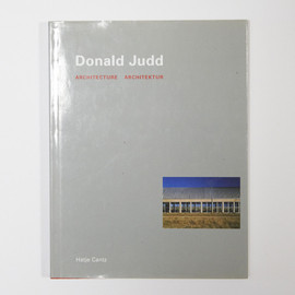 Donald Judd - Architecture