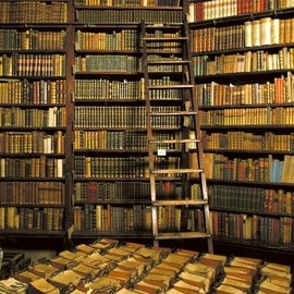 Budapest, Hungary - Rare and Ancient Book Library