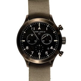 MWC (Military Watch Company) - MIL-TEC III - Military Pilots Chronograph (Titan)