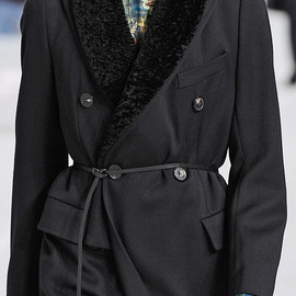 DRIES VAN NOTEN - RUSH FUR COAT
