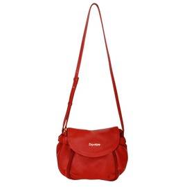 Repetto - Cross body bag 'Grand Manège' Flammy red Silk calfskin