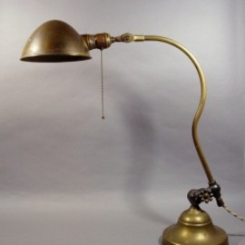O.C.White - 1910-20's  Brass Desk Lamp