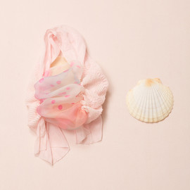 YUKI FUJISAWA, シースルー - She sells sea shells bag