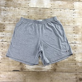 Champion - Champion Sportswear Heather Gray Gym Shorts Mens Size Large