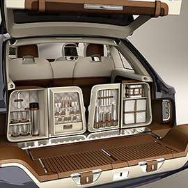 Bentley Exp 9 F - SUV - Bentley SUV, Bar in the Trunk