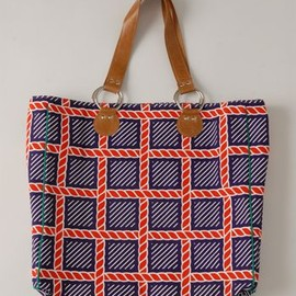 Eley Kishimoto - AW1213 ROPEY HERITAGE BIG BAG - PURPLE