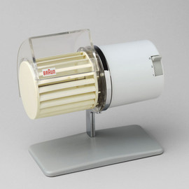 BRAUN, Reinhold Weiss - Desk Fan (model HL1). 1961