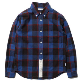 BICOLOR CHECK SHIRT BLACK/NAVY