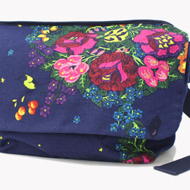 Bohemians - MESSENGER BAG GARDEN(NAVY)