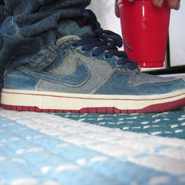"Nike SB - Dunk Low ""Denim."""