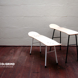 Dr.GRIND - A_CHAIR スケートボードチェア