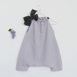 MUKU - Lilac Jumpsuit with Ribbon