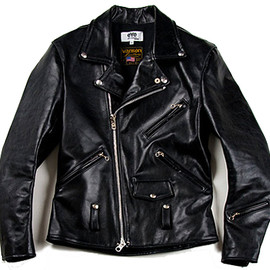 JUNYA WATANABE COMME des GARCONS eYe x Vanson - Leather Riders Jacket