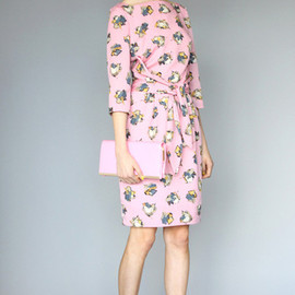 KAREN WALKER - The Ladies Dress Pink Painterly