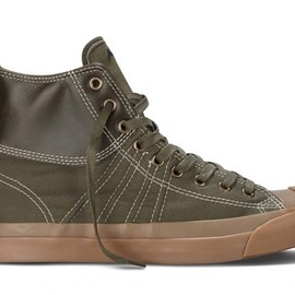 Converse - Jack Percell Duck Boot High - Olive/Gum