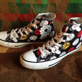 converse - 「<new>converse ALLSTAR THE SIMPSONS HI black 8,295yen」販売中