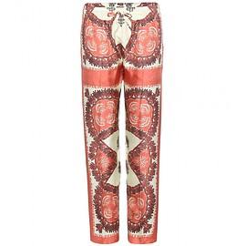 VALENTINO - SS2015 Printed silk trousers