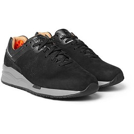 New Balance - 2016 Leather-Trimmed Suede Sneakers