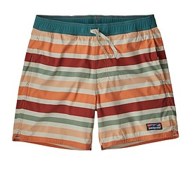 "patagonia - M's Stretch Wavefarer® Volley Shorts - 16"", Water Ribbons: New Adobe (WRNA)"