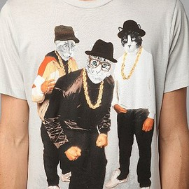 urban outfitters - Rapping Cats Tee