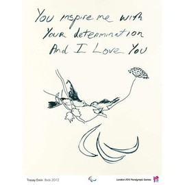 Tracy Emin - London 2012 official poster: Tracey Emin - Birds