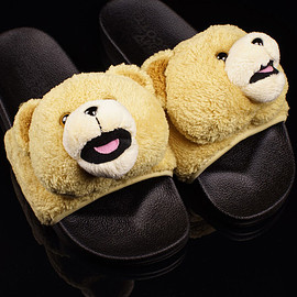 adidas Originals x Jeremy Scott - Teddy Bear Sandals