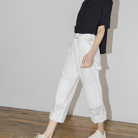 Assembly New York - White Wrangler Pant