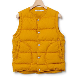 nonnative - HIKER DOWN VEST - COTTON TYPEWRITER